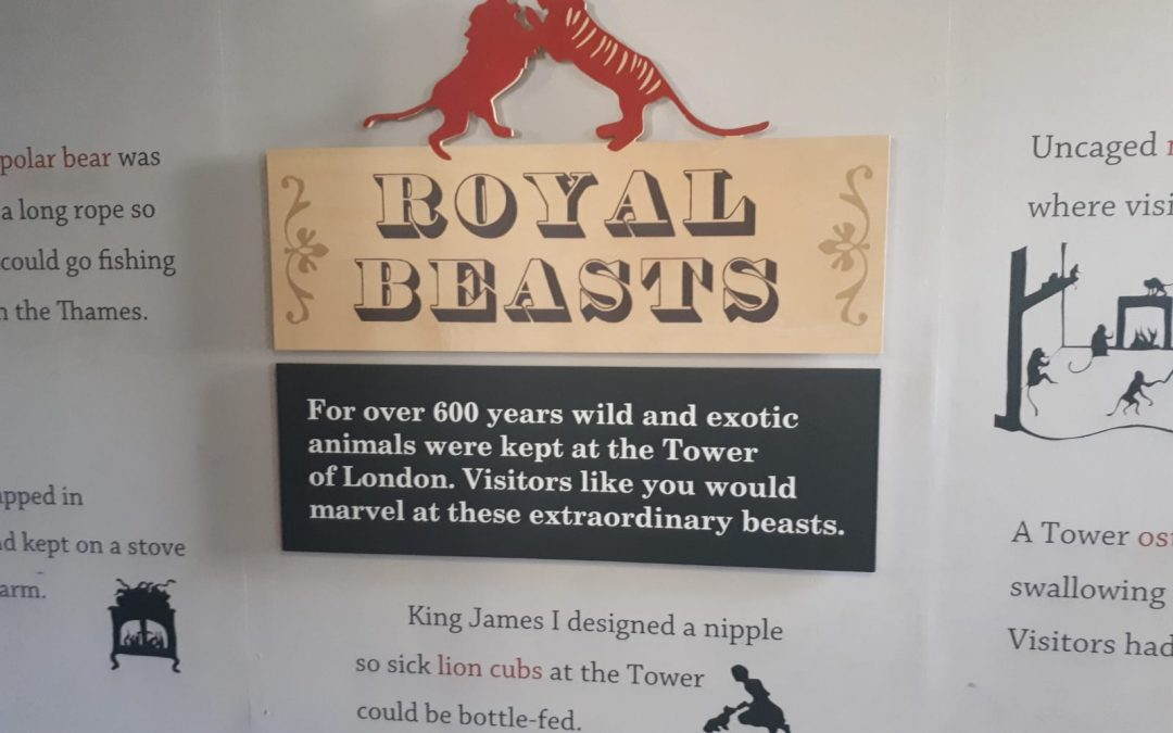 Royal Beasts – Turnul Londrei